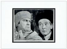 Kenneth Williams & Terry Scott Signed Photo - Carry On Henry